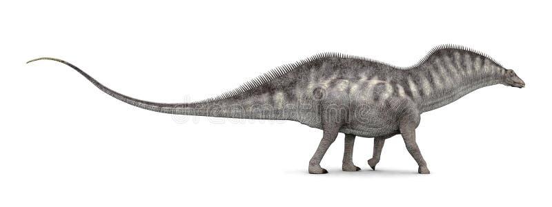 Amargasaurus de dinosaure illustration de vecteur