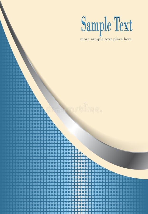 Amarillento y azul del fondo del asunto libre illustration