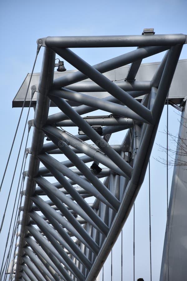 Amasing Akrobaten zwyczajny most w Oslo, Norwegia zdjęcie royalty free