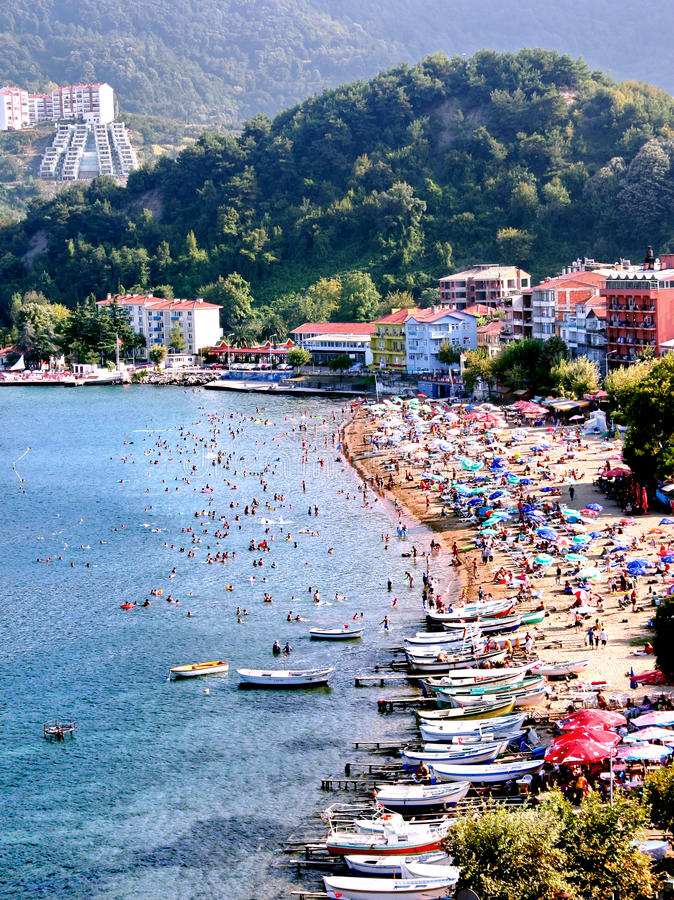 Download Amasra Beach stock photo. Image of peaceful, amasra, coastal - 9884970