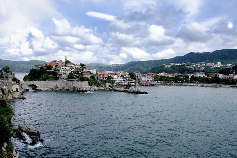 Amasrabaai aan de Zwarte Zee royalty-vrije stock foto
