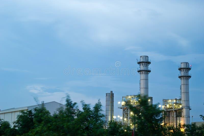 Download Amata Nakhon Electric Power On Night Stock Image - Image: 26810611