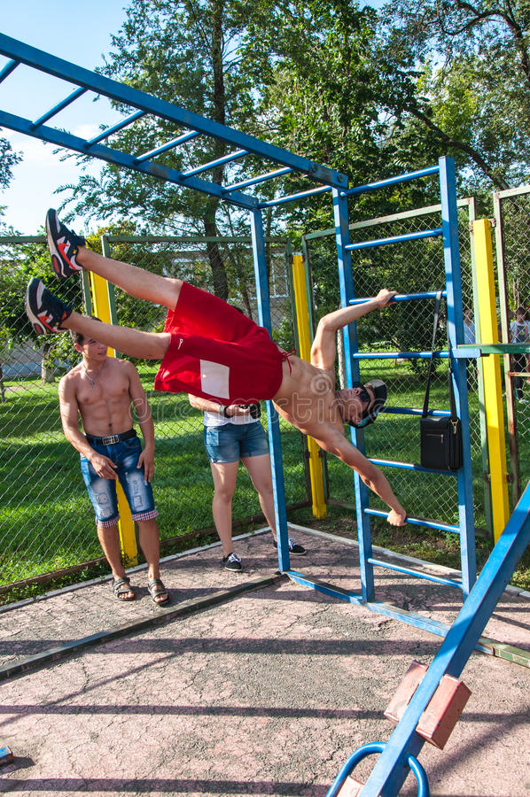 Amateur Competitions Of Street Workout Editorial Image