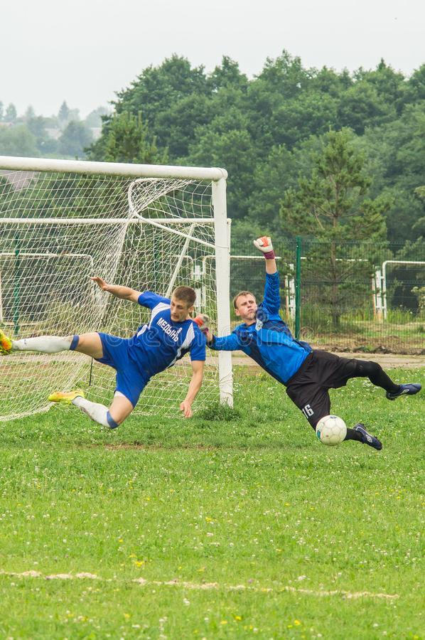 Amateur football championship in Kaluga region of Russia. Kaluga region hosts an annual regional championship with Amateur football competitions. Teams from stock images