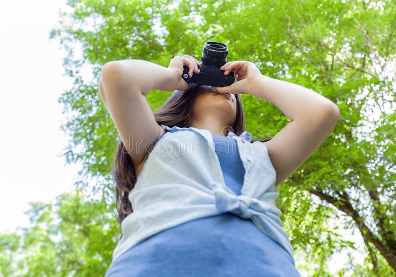 Amateurphotograph Outdoor stockbild
