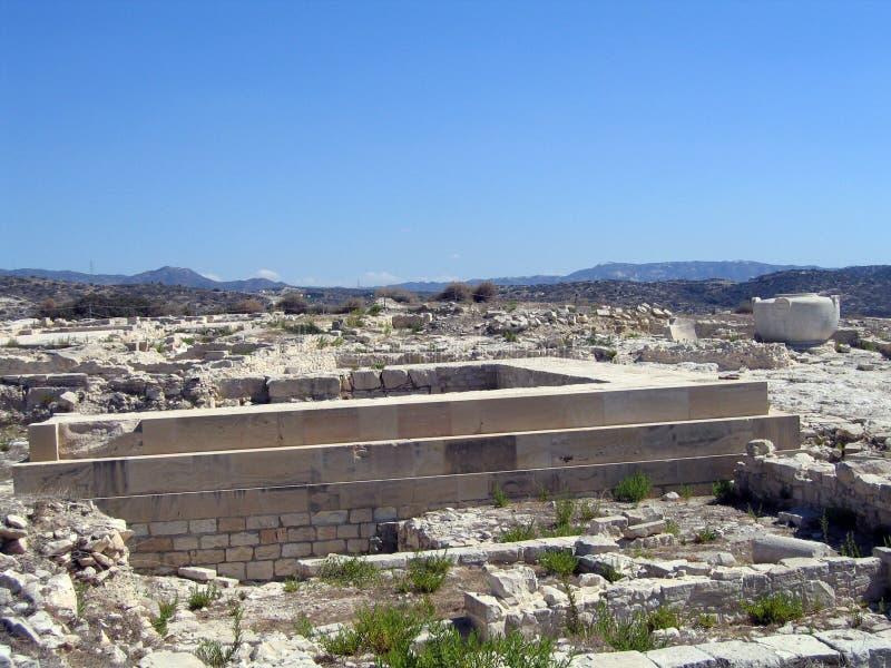Amathus. Chipre foto de archivo libre de regalías