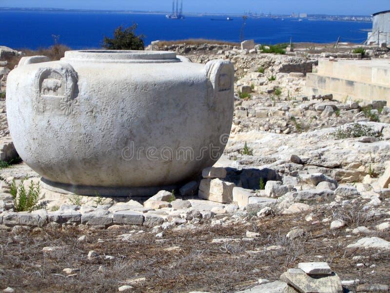 Amathus. Zypern stockbilder