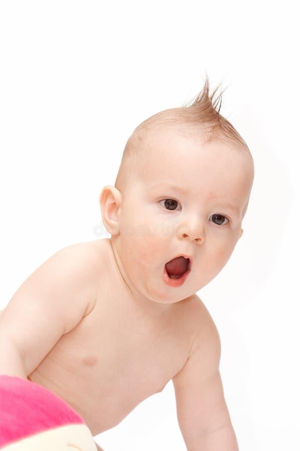 Amazed Baby Royalty Free Stock Photos