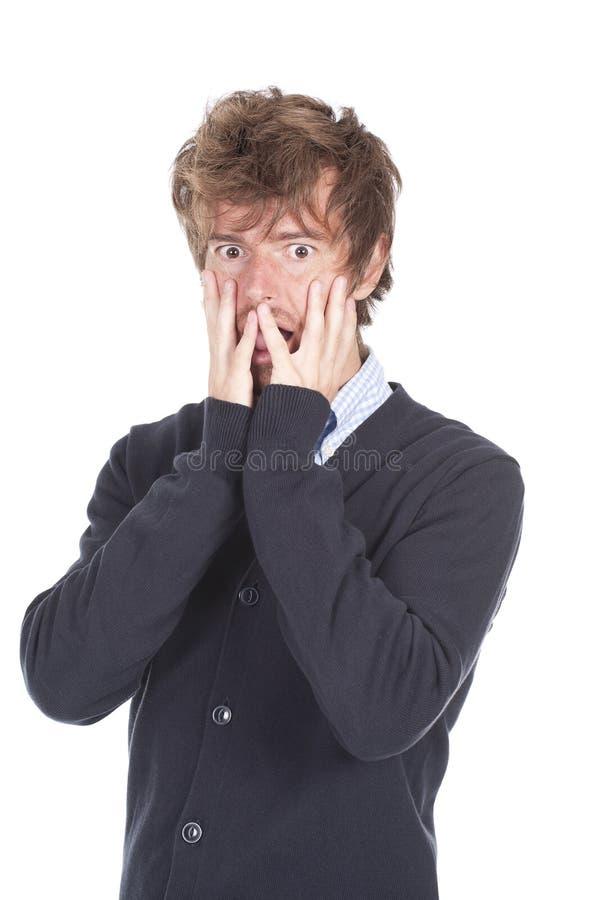 Download Amazed boy stock photo. Image of astonish, astound, expressive - 16476504