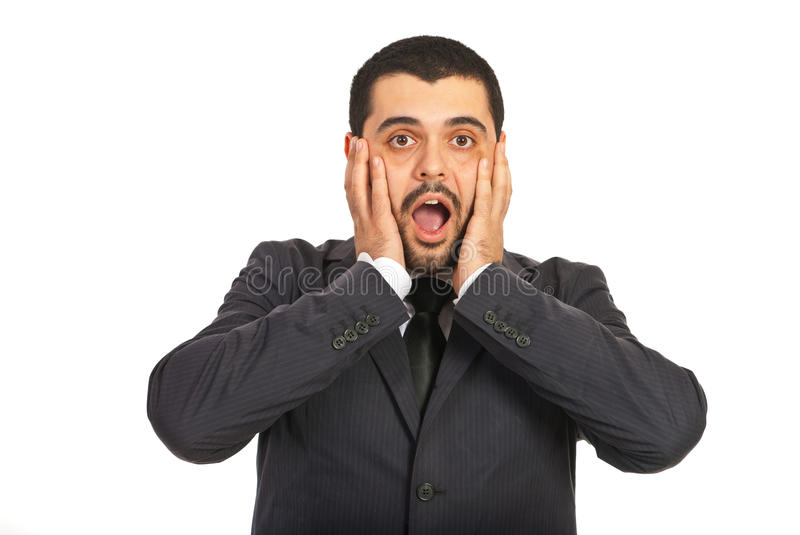 Download Amazed  business man stock photo. Image of screaming - 28197816