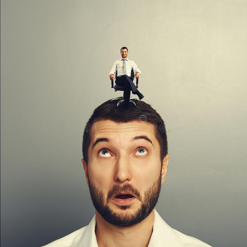 Download Amazed Man With Happy Successful Man Stock Image - Image: 36671631