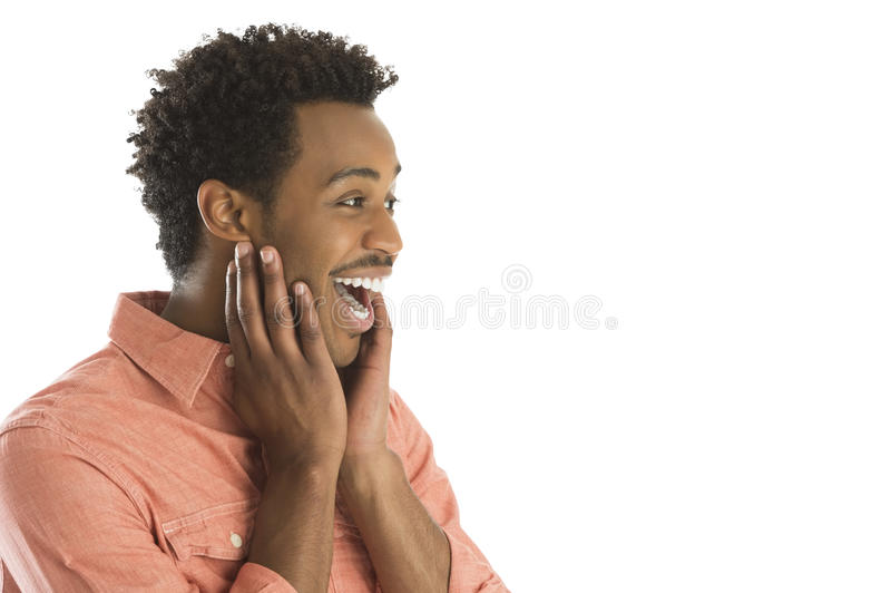 Download Amazed Man Looking At Copy Space Stock Image - Image of male, excitement: 32482105