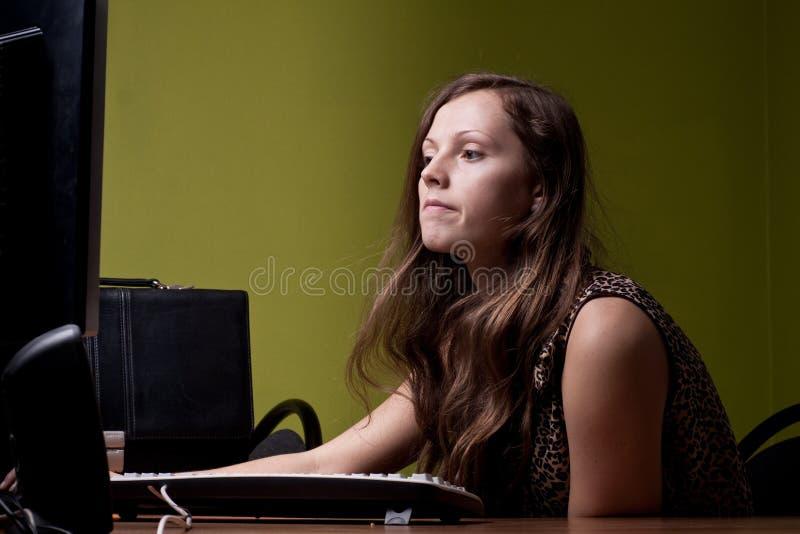 Amazed Portrait Stock Image