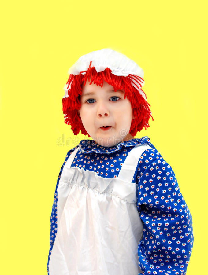 Download Amazed rag doll stock photo. Image of doll, messy, expression - 18890664