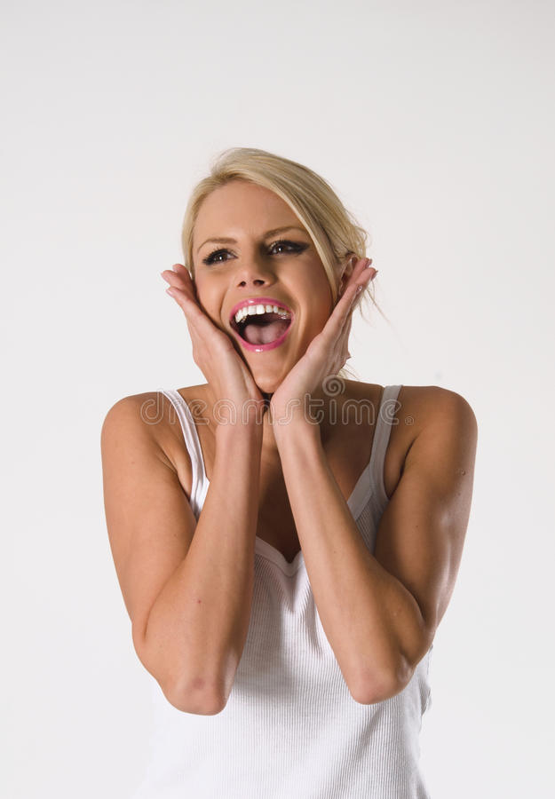 Download Amazed Young Woman Royalty Free Stock Photo - Image: 30151445