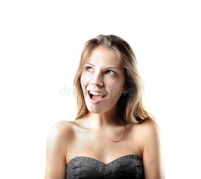 Download Amazement stock photo. Image of expression, blonde, young - 16852736