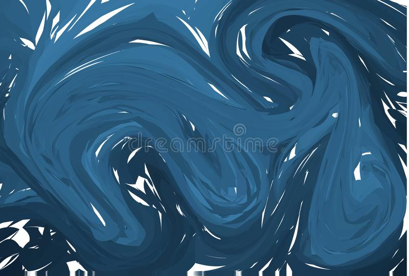 Amazing acrylic texture. Abstract unique handmade background. Vector illustration vector illustration