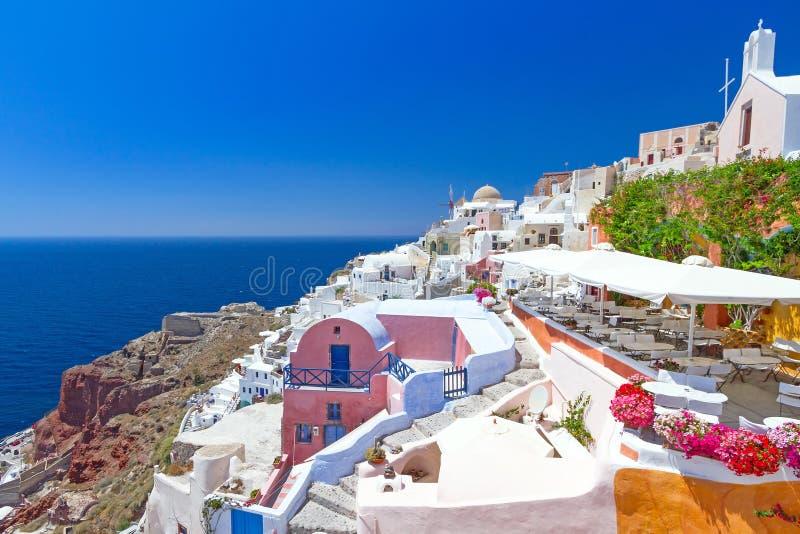 Download Architecture Of Oia Village On Santorini Island Stock Photo - Image: 30067790