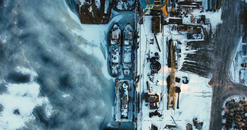 Amazing aerial city shot stock video