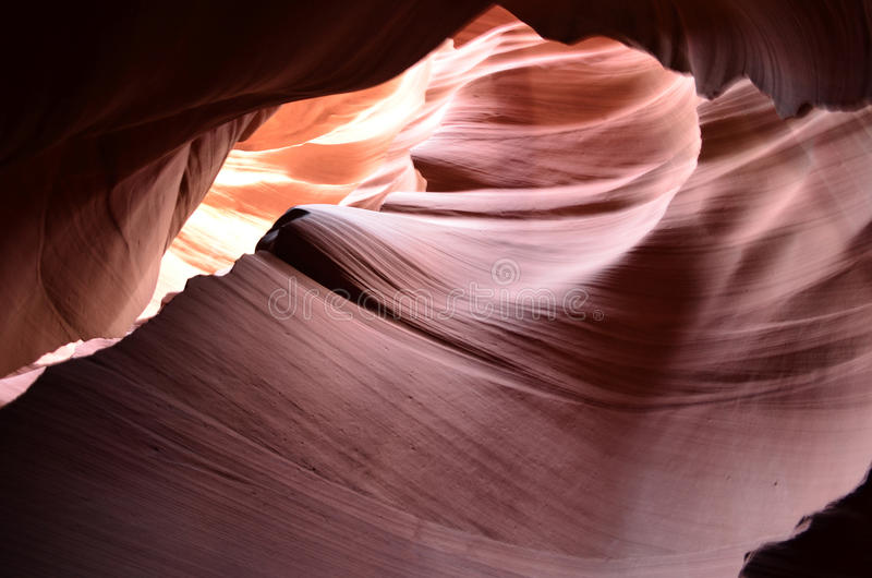 Amazing Arizona Red Rock Slot Canyon royalty free stock images