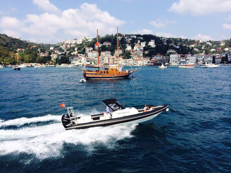 Amazing Bosphorus royalty free stock image