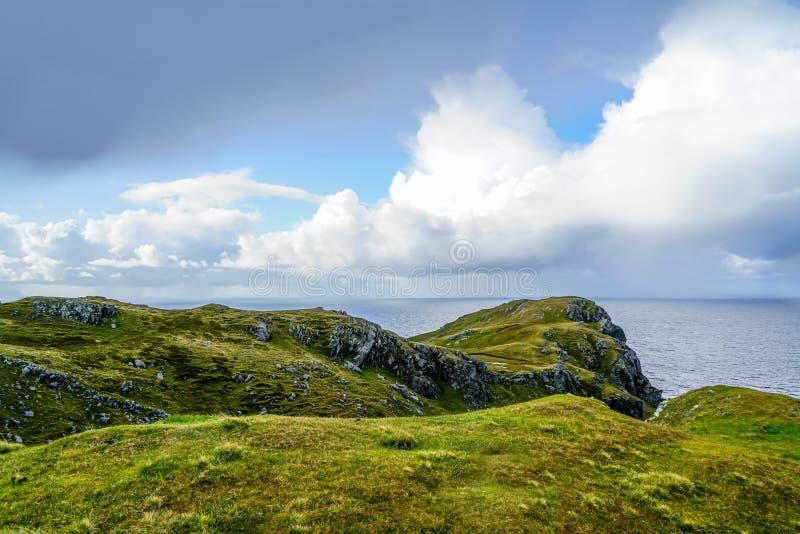 Amazing Cliffs of Slieve League. The amazing cliffs of Slieve League near Carrick Ireland royalty free stock photo