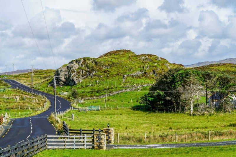 Amazing Cliffs of Slieve League. The amazing cliffs of Slieve League near Carrick Ireland royalty free stock image
