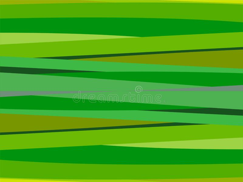 The Amazing of Colorful Art Green, Abstract Modern Shape Background or Wallpaper vector illustration