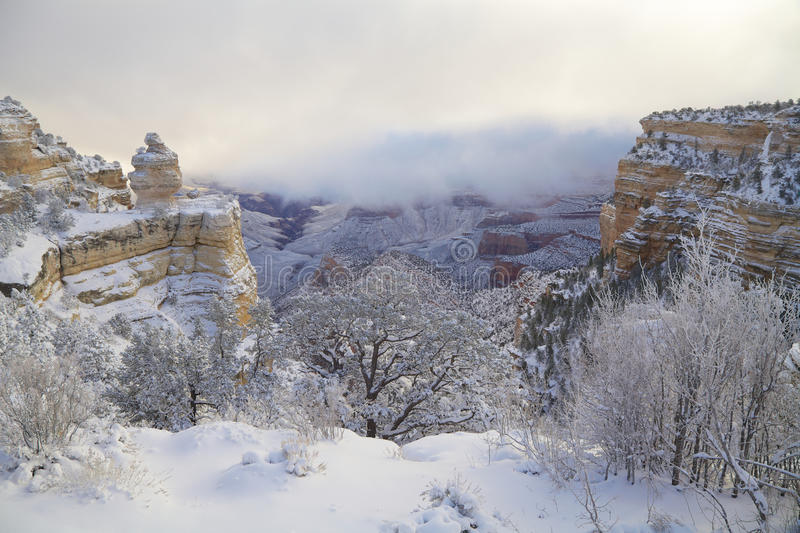 Download Winter Landscape At Grand Canyon Stock Photo - Image: 29711528