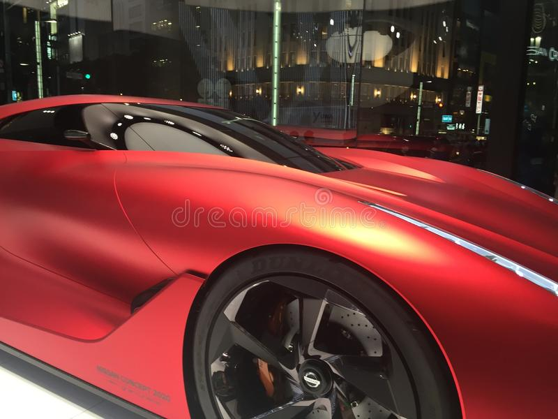 Amazing concept sport car Nissan royalty free stock images