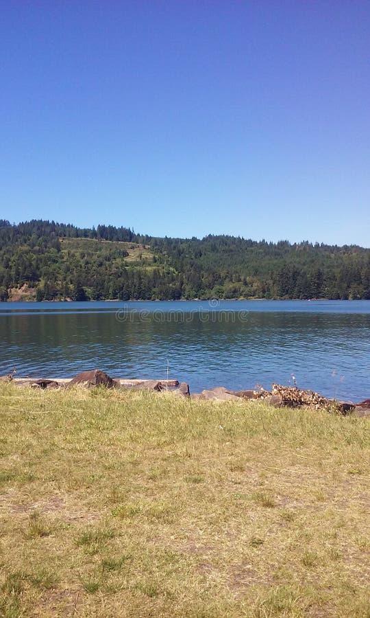 The lake. Amazing day great photos royalty free stock photos