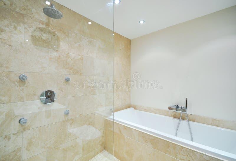 Download Amazing en-suite stock image. Image of cabin, bathroom - 16516291