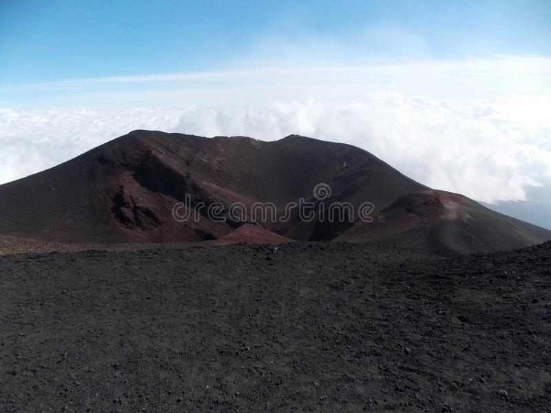 Amazing Etna, Sicily royalty free stock photography