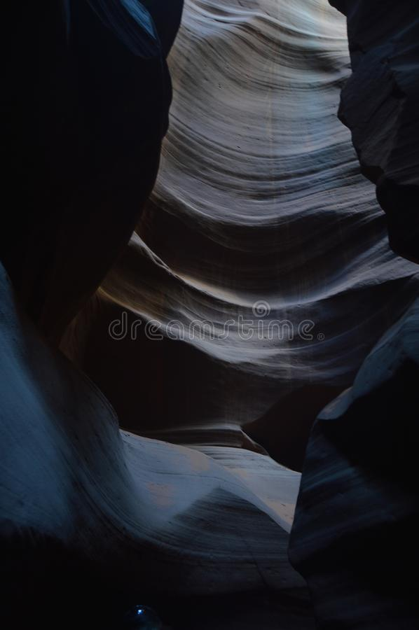 Amazing Geological Formations In Antelope Canyon. Land of Navajos. Geology. Holidays. Travel. Amazing Geological Formations In Antelope Canyon. Land of Navajos royalty free stock photos