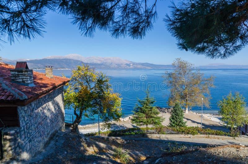 Amazing lake Egirdir the most peaceful place for summer, Turkey, Isparta royalty free stock photo
