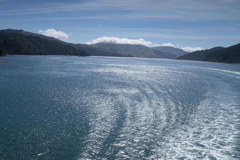 Amazing lakes in New Zealand d.y. Breathtaking view Clean blue Amazing lakes in New Zealand d.y stock photography