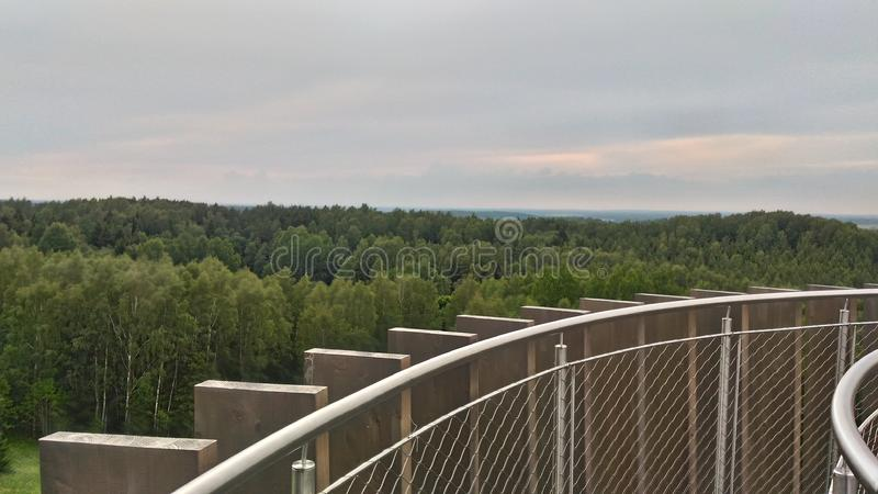 Amazing landscaper royalty free stock image