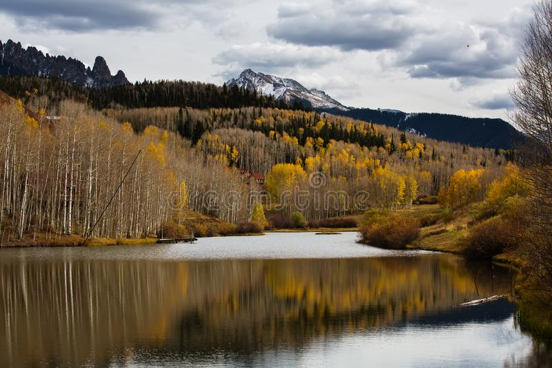 Amazing landscapes of San Juan national forest in Colorado, USA.  stock images