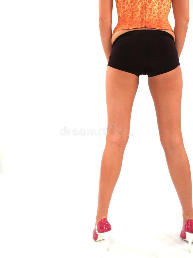 Amazing Legs of Model royalty free stock photography