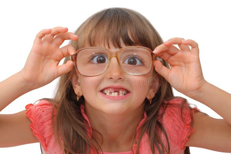 Amazing little girl stock image