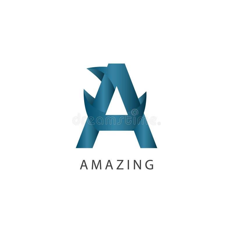 Amazing Logo Vector Template Design Illustration stock illustration