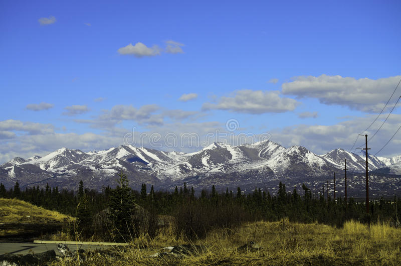 Amazing mountain view stock image