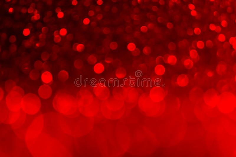 Amazing red blurred background for Valentine`s day, party, event concepts.  royalty free stock image