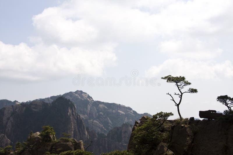 Amazing Stunning View of Huangshan Mountain, Yellow Mountaing. A stock photo