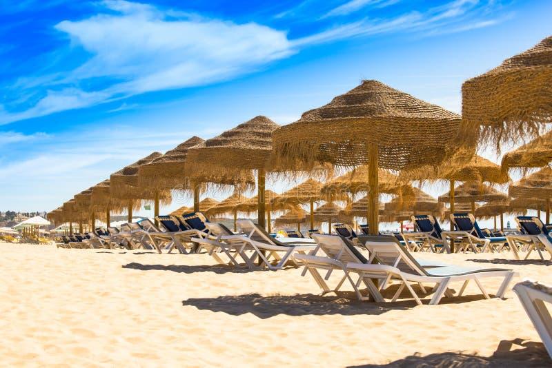 Amazing summer holiday destination Portimao Algarve Portugal royalty free stock photography