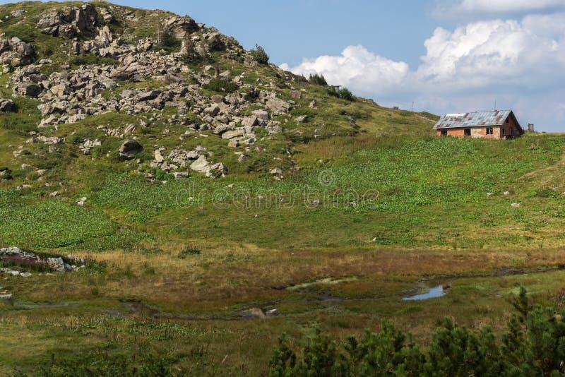 Summer Landscape of Rila Mountan near The Seven Rila Lakes, Bulgaria. Amazing summer Landscape of Rila Mountan near The Seven Rila Lakes, Bulgaria stock photo
