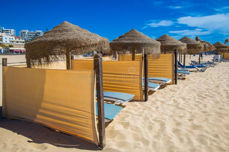 Amazing summer holiday destination Portimao Algarve Portugal stock photos