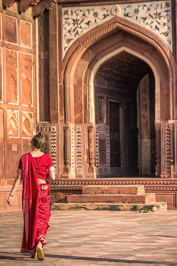Amazing Taj Mahal royalty free stock photos