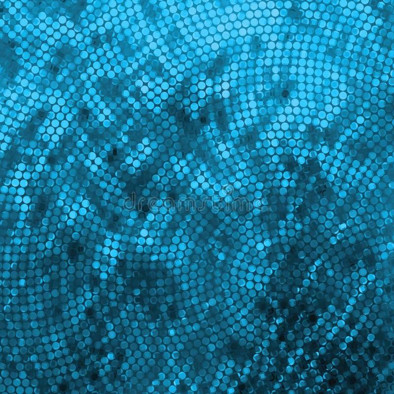 Amazing template design on blue glittering. EPS 8 vector illustration