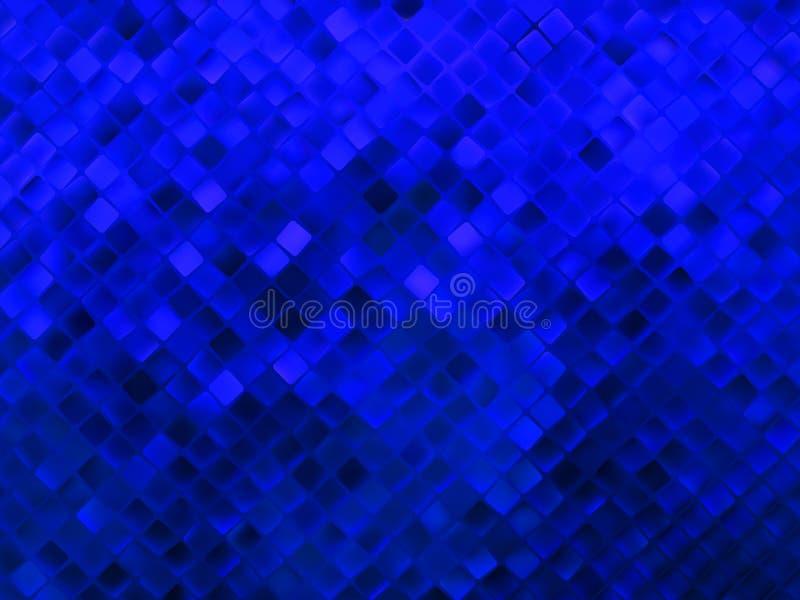 Amazing template design on blue glittering. EPS 8 stock illustration